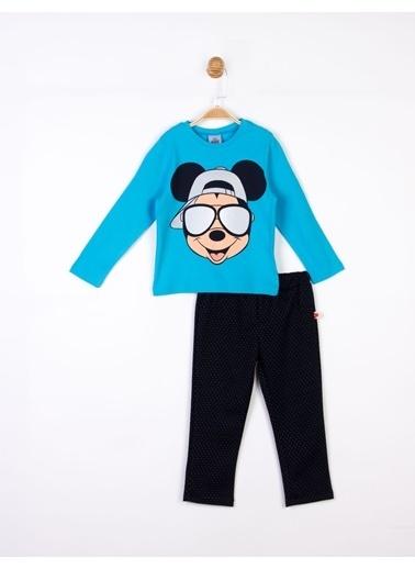 Mickey Mouse Disney Mickey Çocuk Takım 18043 Mavi